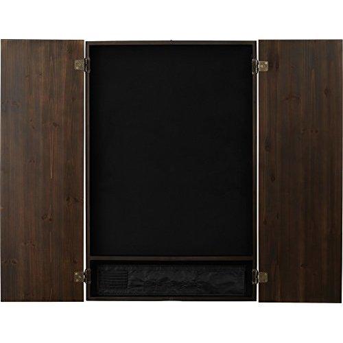 Viper Metropolitan Electronic Soft Tip Dartboard Cabinet Cabinet Only No Dartboard Espresso Finish