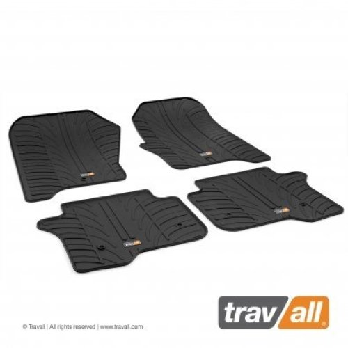 Travall Rubber Car Floor Mats [rhd] - Lr Range Rover Evoque (2011-) (4p+f)