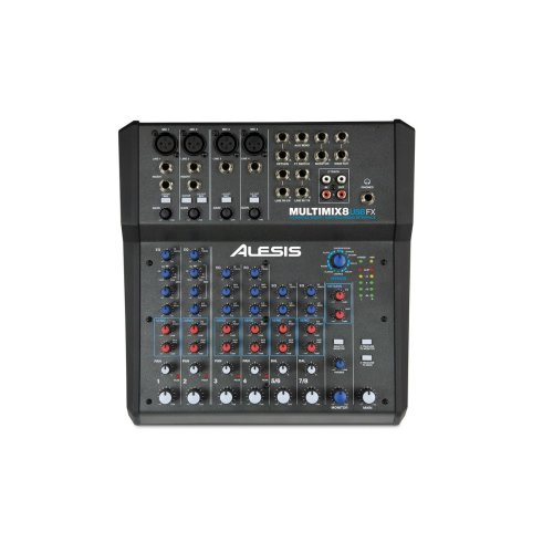 Alesis Multimix 8 USB FX - 8 Channel Mixer With Effects And USB Audio Interface