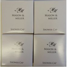 Mason & Miller Shower Caps ~ Individually Boxed