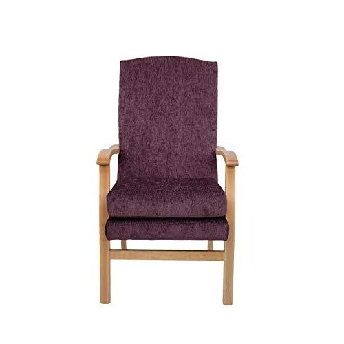 MAWCARE Deepdale Ortopaedic High Seat Chair - 19 x 20 Inches [Height x Width] in Darcy Plum (lc48-Deepdale_d)