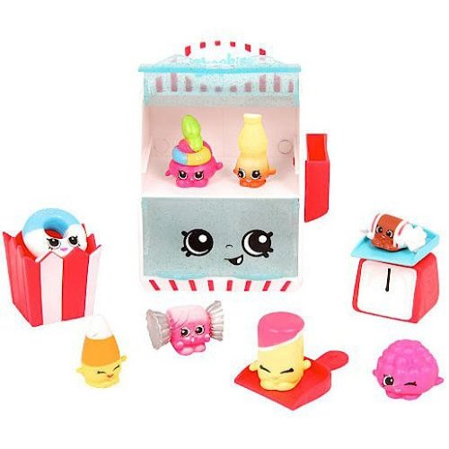 Shopkins Food Fair Deluxe Pack - Candy Collection