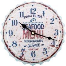 Seafood Bottle Clock