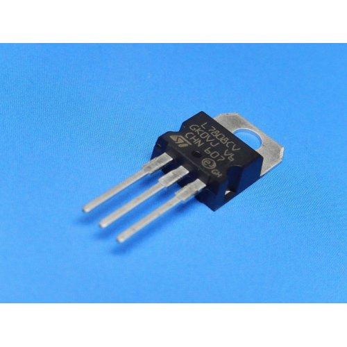 Voltage Regulators L7808CV +8Vdc TO-220 package PACK of 5