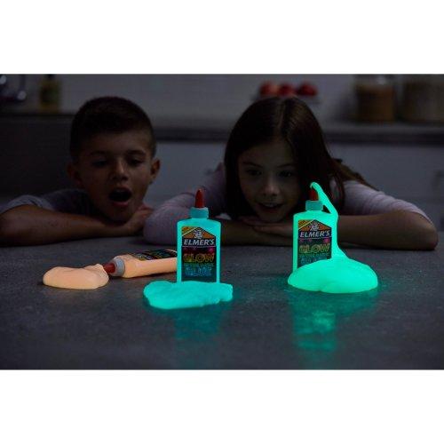 Elmers Glow In The Dark Liquid Glue 5oz-Natural