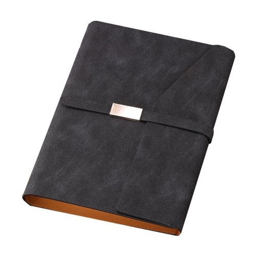 A5 Refillable Binder Planner PU Leather Cover Notebook Journal, #06