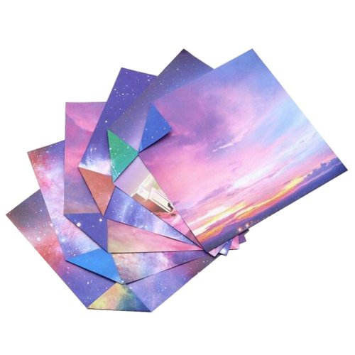 174 Sheets Colorful Square Origami Papers Craft Folding Papers #26