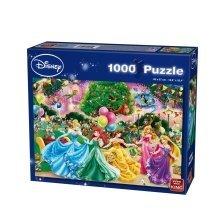 Kng05261 - King Puzzles - Disney 1000 - Disney Fireworks