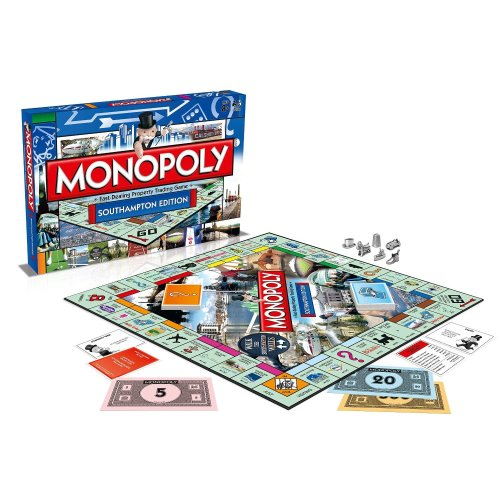 Southampton Monopoly Family Board Game Brand New Sealed