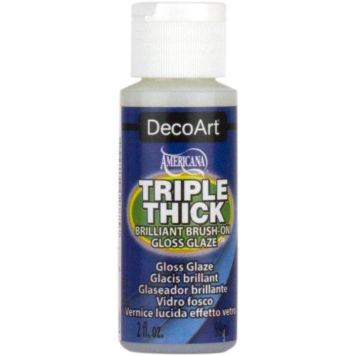 Triple Thick Brilliant Brush-On Gloss Glaze 2oz-