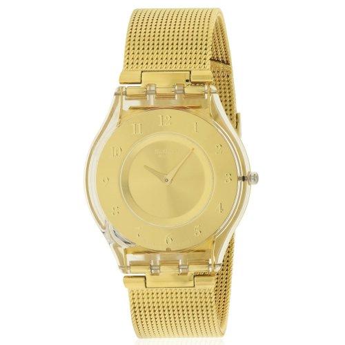 12dd46e19 Swatch GENEROSITY Gold-Tone Ladies Watch SFK355M on OnBuy