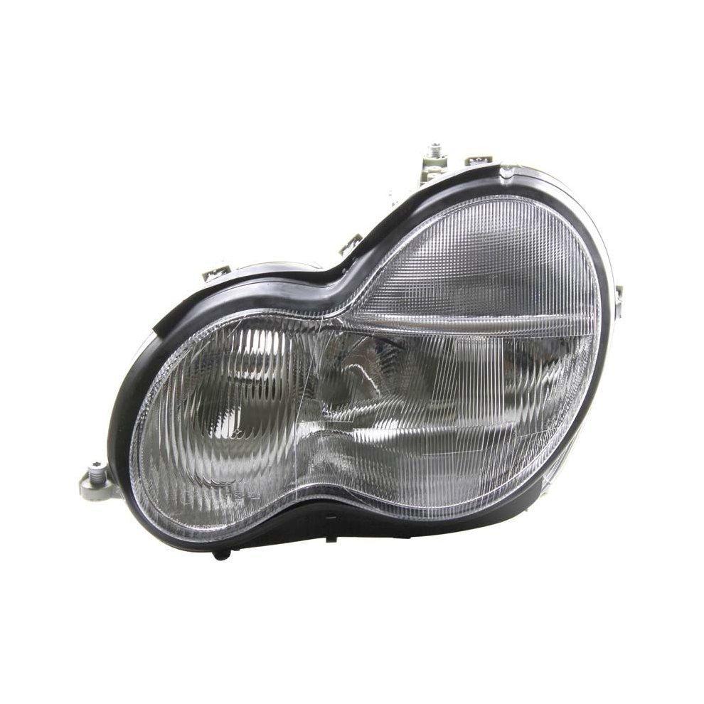 Mercedes C Class W203 10/2000-9/2002 Headlight Headlamp Passenger Side N/s