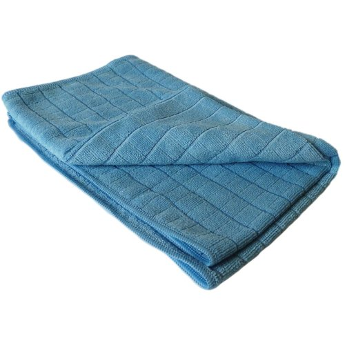 GBPro Eco Premium Microfibre Tea Towel/Cloth/Glass cloth large - Blue (65 x 50cm)