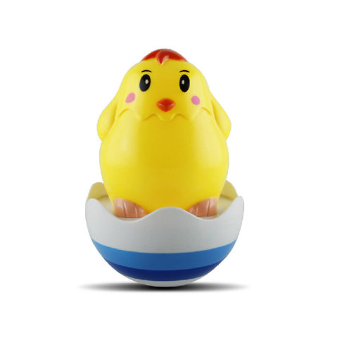 Cute chick Tumbler Roly Poly Toys Push and Pull Toys