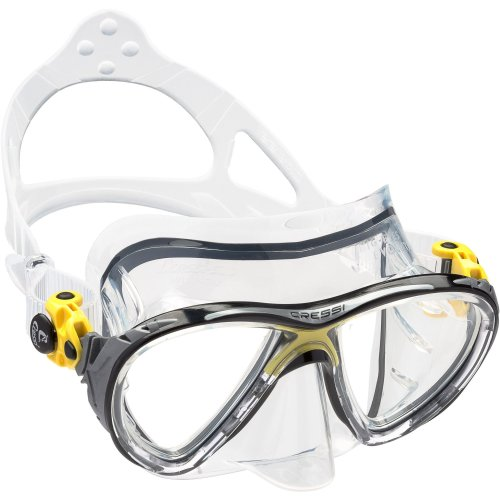 Cressi Big Eyes Evolution, Scuba Diving and Snorkeling Premium Mask - Made in Italy
