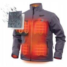 (XXL) Milwaukee M12HJGrey3-0 Premium Heated Jacket