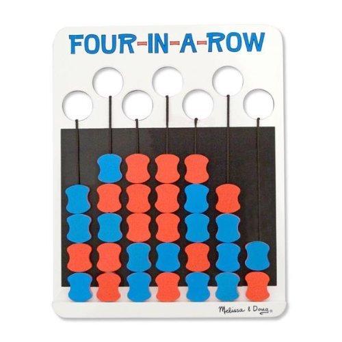 Melissa Doug Travel Four in a Row