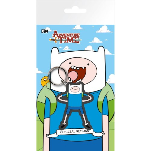 Adventure Time Finn Keyring