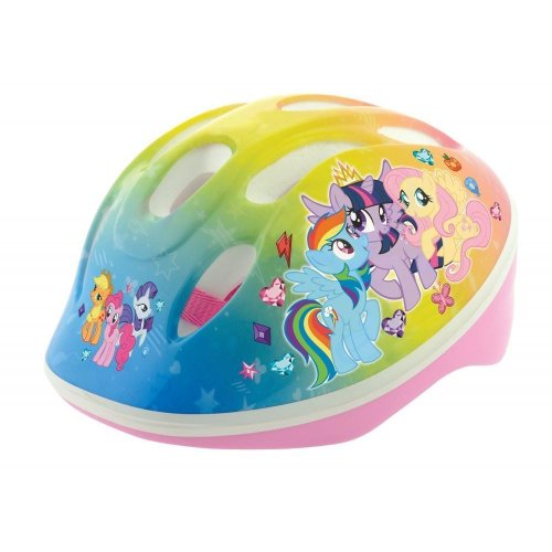 10f73496b7e My Little Pony Girl Bike Safety Helmet Pale Blue 48-52 cm Ventilated shell  on OnBuy