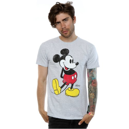Disney Men's Mickey Mouse Classic Kick T-Shirt