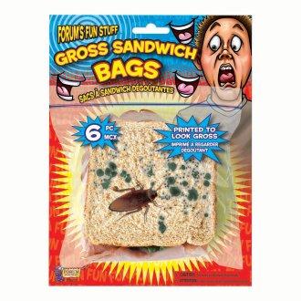 Bristol Novelty Gross Sandwich Bag (Pack Of 4)