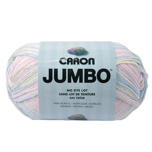 Caron Jumbo Print Yarn-Baby Rainbow