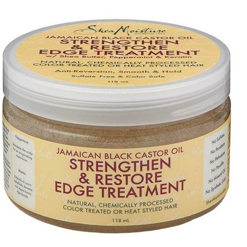 Shea Moisture Jamaican Black Castor Oil Strengthen & Restore Edge Treatment 118ml