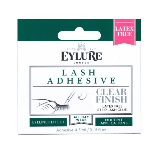 Eylure Lashfix Latex Free Strip Lash Adhesive, Clear 4.5 ml