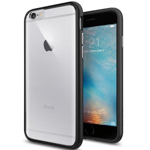 the latest 8c782 8b7cd Spigen iPhone 6 Case, [Ultra Hybrid] iPhone 6s Case - Black