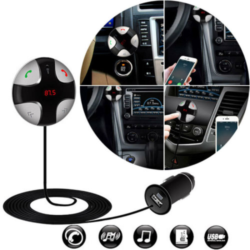 Multifunction Bluetooth 3.0 Handsfree Car Kit Charger Magnetic MP3 Player USB