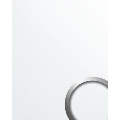 WallFace 19521 Magic White Decor panel plastic look matt white 2.6 sqm