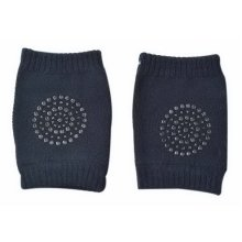 Baby Crawling Knee Pads Breathable Mesh Non-Slip Kneepads For Infants, Dark Blue