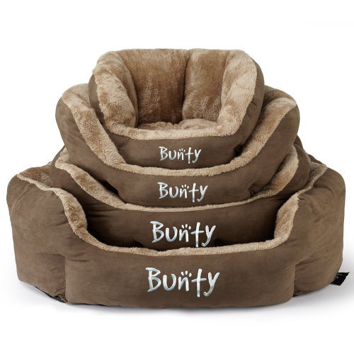 Bunty Polar Dog Bed | Soft Fleece Pet Bed