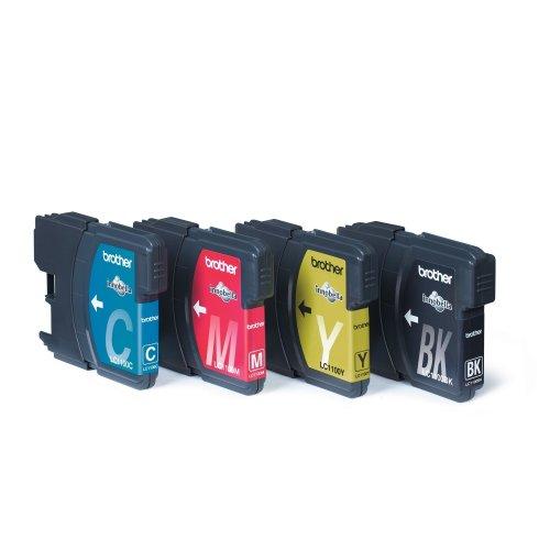 Brother Lc-1100valbp Black,cyan,magenta,yellow Ink Cartridge