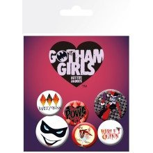 Dc Comics Gotham Girls Harley Quinn Badge Pack