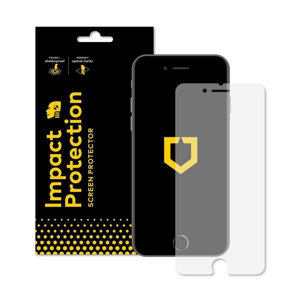 size 40 14a88 a328f RhinoShield Screen Protector FOR IPHONE 8 PLUS/IPHONE 7 PLUS [Impact  Protection] | Hammer Tested Impact Protection - Clear and Scratch  Resistant...