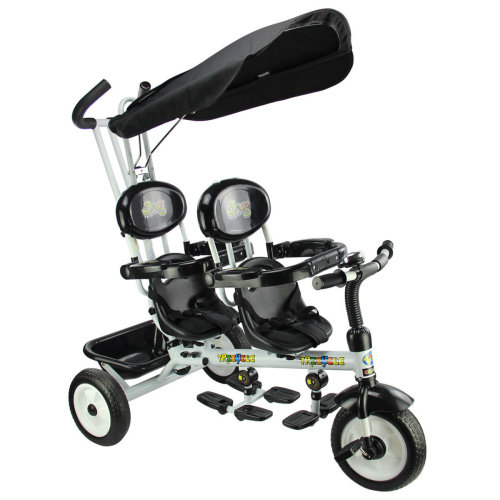 4 In 1 Kids Child Trike Tricycle 3 Wheel Handle