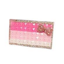 Elegant Crystal Cigarette Holder Ladies Cigarette Case Accessories Greative Gift, B