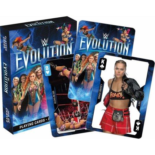 Playing Card - WWE - Evolution Divas New Licensed 52623