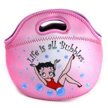 """Betty Boop """"Life Is All Bubbles"""" Neoprene Bag"""