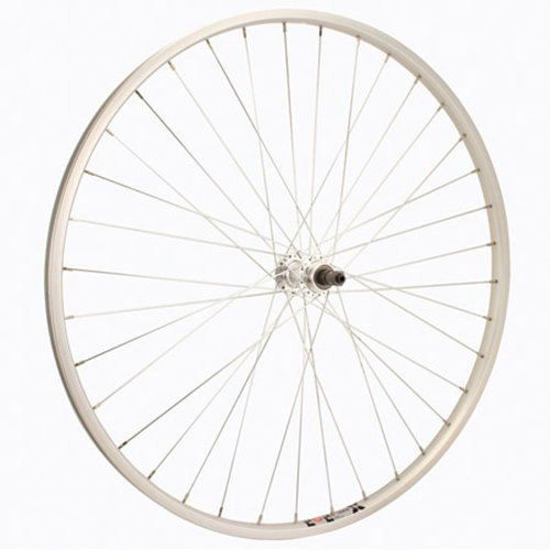 Sta Tru Silver Alloy ATB 6 7 8 Speed Freewheel Hub Rear Wheel 700X35