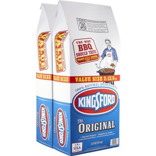 Kingsford Products 250211 12 lbs Original Charcoal Briquettes - Pack of 2