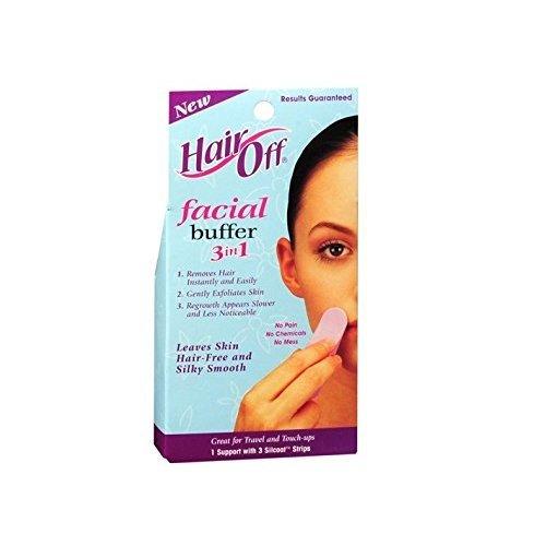 Hair Off Facial Buffer 3-in-1 (3 Pack)