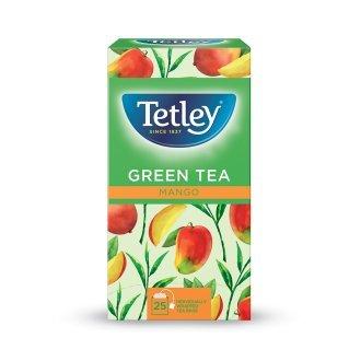 Tetley Green Tea with Mango Enveloped 25