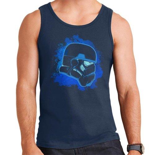 Original Stormtrooper Blue Silhouette Men's Vest