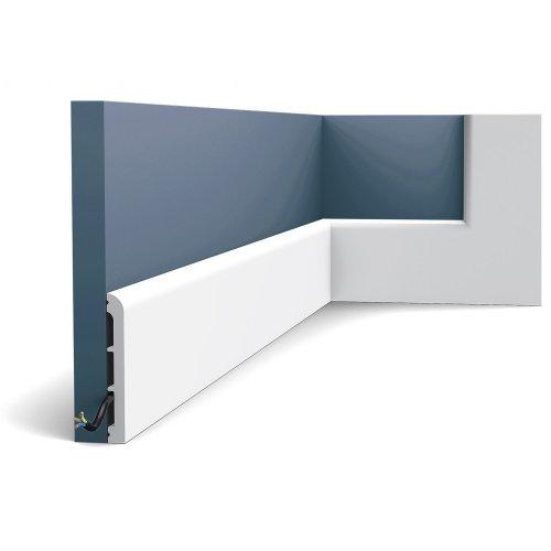 Orac Decor SX184 AXXENT CASCADE Skirting baseboard moulding panel moulding 2 m