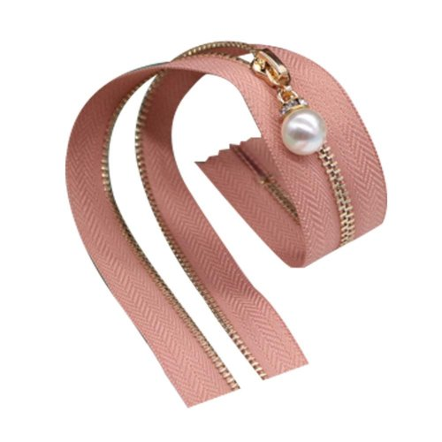 2 Pcs Nylon Coil Zippers Tailor Sewing Tools Garment Accessory 15.75 Inch [N]