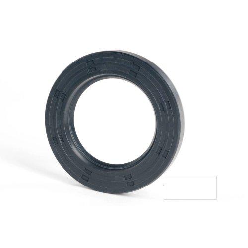 6x12x2mm Oil Seal Nitrile R21 Single Lip Springless 5 Pack