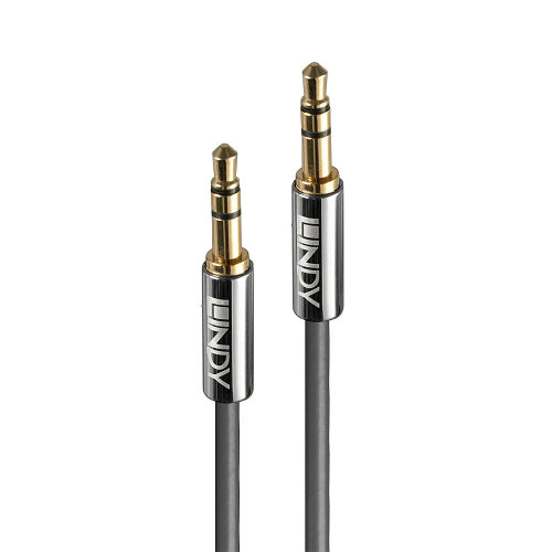 Lindy 35323 audio cable 3 m 3.5mm Anthracite