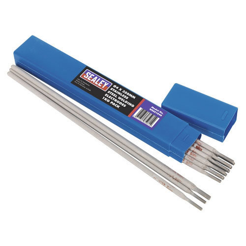 Sealey WESS1040 Diameter 4 x 350mm Stainless Steel Welding Electrodes 1kg Pack